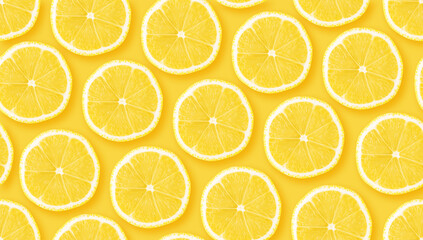 Citrus seamless backdrop texture