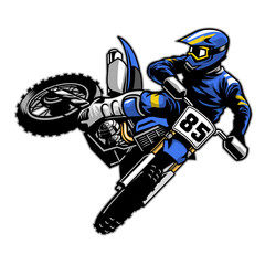 Estores personalizados de deportes con tu foto tail whipping motocross