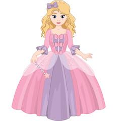 Canvas Prints Fairytale World Little princess