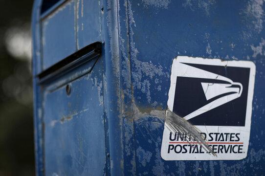 United States Postal Service mail box