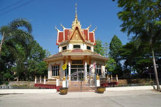 タイ チャンタブリーの仏教寺院
