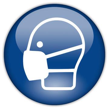 Button Patch CORONA Maskenpflicht