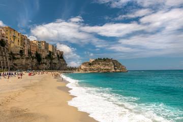 Spiaggia della Rotonda, Santa Maria dell'Isola, Tropea, Calabria, Italy