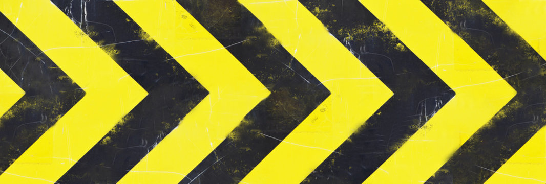 hazard stripes background
