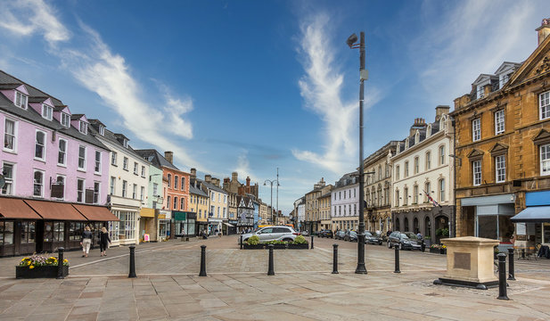 The Cotswold Town of Cirencester in England
