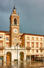 Wall Mural - Tre Martiri square in Rimini