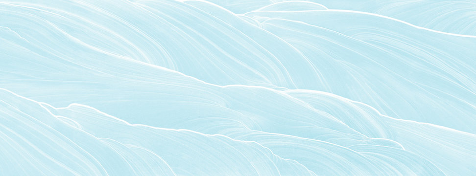 abstract blue waves pattern background