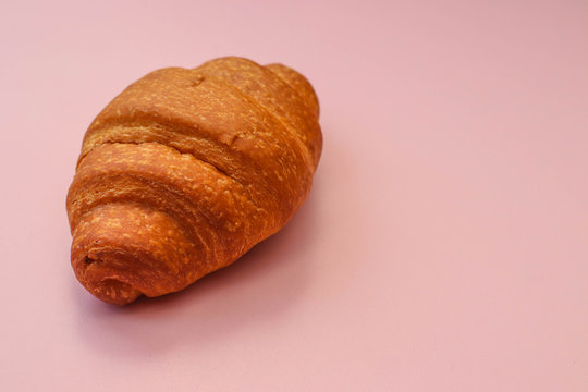 Classic French Croissant For Bakery Shop Photostock