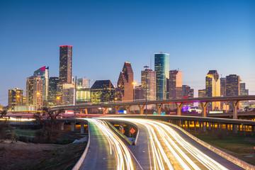 Fototapete - Houston, Texas, USA City Skyline