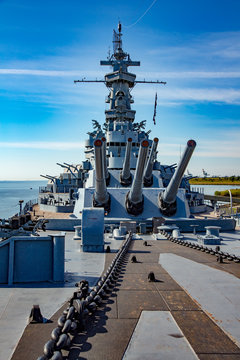 Mobile, Alabama;  USS Alabama (BB-60), a South Dakota-class battleship.  It was commissioned in 1942 and served in World War II