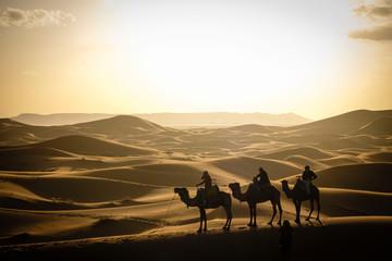 Erg Chebbi dunes, Merzouga, Marruecos, Africa