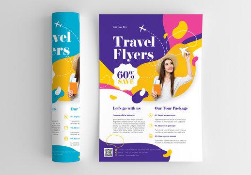 Travel Flyer Layout