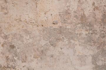 Stary tynk na zabytkowej kamiennej ścianie