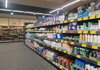 Cosmetic products in ALDI SUED