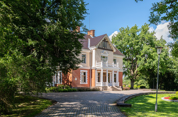 old stone manor estonia europe