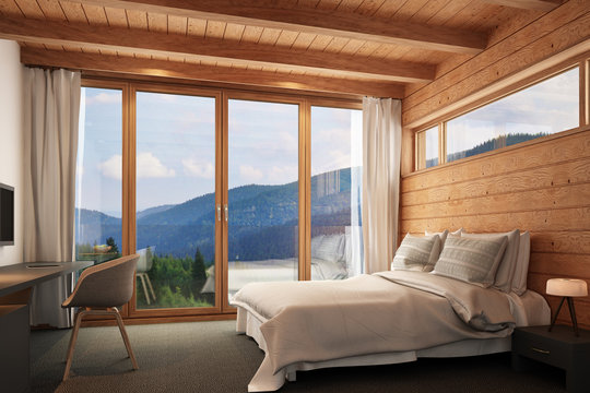 Hotelraum Holz 2
