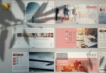 Smart Digital Business Plan Layout