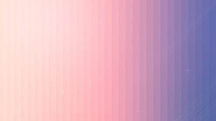 Abstact peach to pink to purple color gradient background with copy space. Modern and trendy abstract background with vertical lines. 4k resolution.