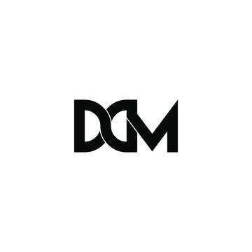 ddm letter original monogram logo design