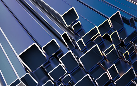 Rolled metal products. Steel square profiles.