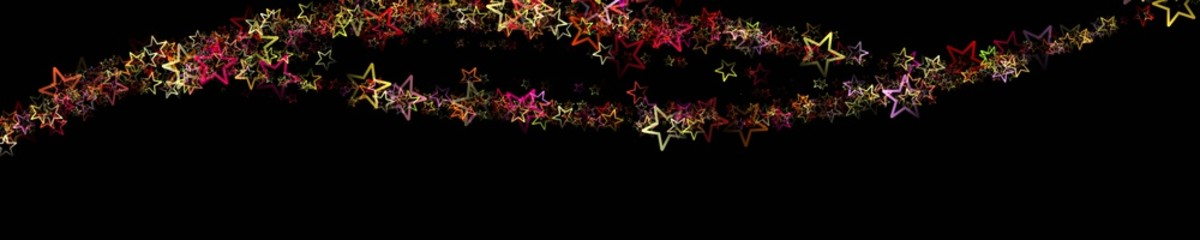 Wonderful christmas panorama design illustration