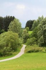 Wanderweg rund um den Rottachsee, Allgäu, Bayern