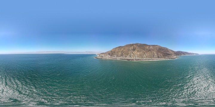 HDRI , Pacific Ocean, 8k