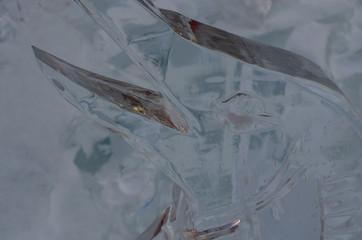 氷の彫刻 Wall mural