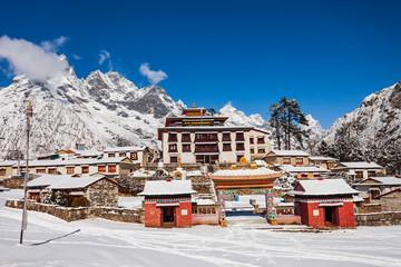 Obraz Tengboche Monastery in Everest region, Nepal - fototapety do salonu
