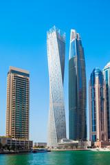 Papiers peints Chicago Dubai Marina district in Dubai, UAE