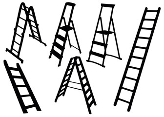 Ladders and ladders in the set.
