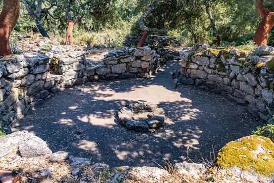 Well at Complesso Nuragico e Nuraghe di Noddule, Sardinia, Italy 1