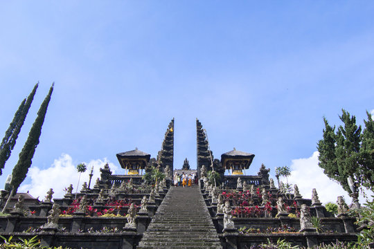 31 May 2013, Bali, Indonesia: Besakih Temple at North Bali, Indonesia.