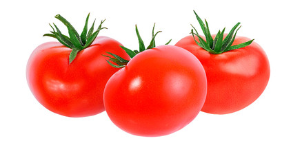 Fototapete - tomato isolated on white background