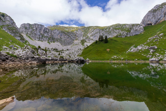 Lac de Darbon en Haute Savoie