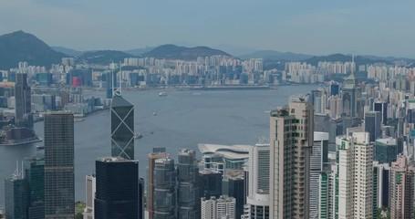 Wall Mural - Hong Kong city landmark