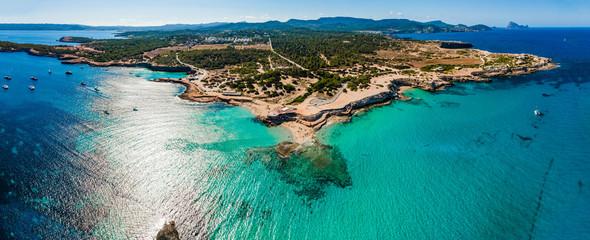 Cala Conta beach, Ibiza.