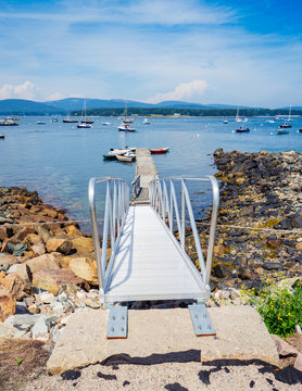boat ramp in Southwest Harbor Maine