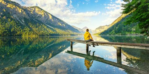 Sitzen am See, Stille genießen