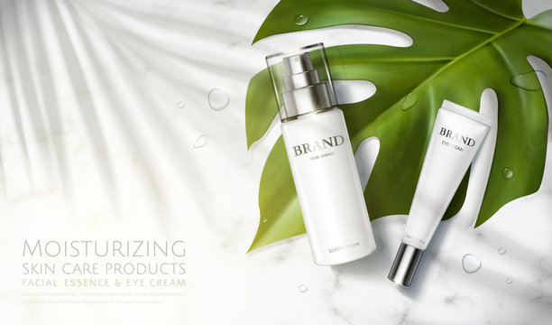 Skin care product ad template
