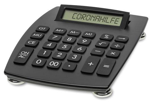 TASPP Tischrechner Coronahilfe