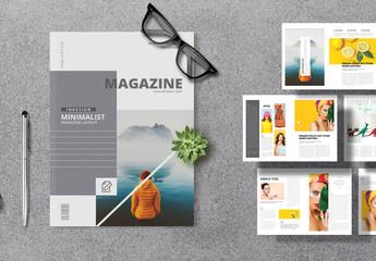 Lifestyle Magazine Layout