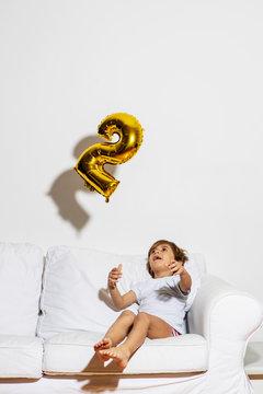 Portrait of a 4 year old boy