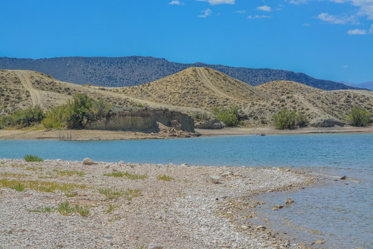 The Reservoir at Flaming Gorge National Recreation Area in Ashley National Forest, Utah