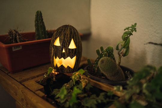Melon de halloween
