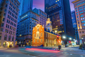 Wall Mural - Boston Old State House buiding in Massachusetts