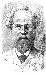 Élisée Reclus, was a renowned French geographer, writer and anarchistin the old book Encyclopedic dictionary by A. Granat, vol. 8, S. Petersburg, 1903