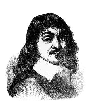 René Descartes, was a French philosopher, mathematician, and scientist in the old book Encyclopedic dictionary by A. Granat, vol. 3, S. Petersburg, 1896