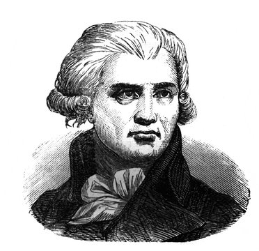 Georges Danton, was a leading figure in the early stages of the French Revolution in the old book Encyclopedic dictionary by A. Granat, vol. 3, S. Petersburg, 1896