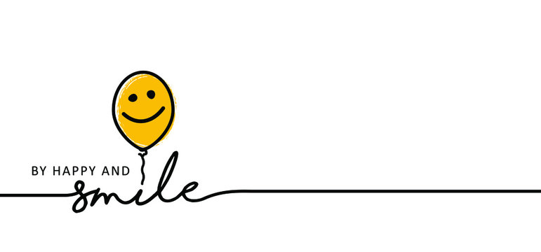 Slogan be happy and smile. Happy world smile day, smiling is loading. Big happiness. Funny vector best quotes. Relaxing and chill, happy motivation and inspiration message moment concept. Laugh. Lol